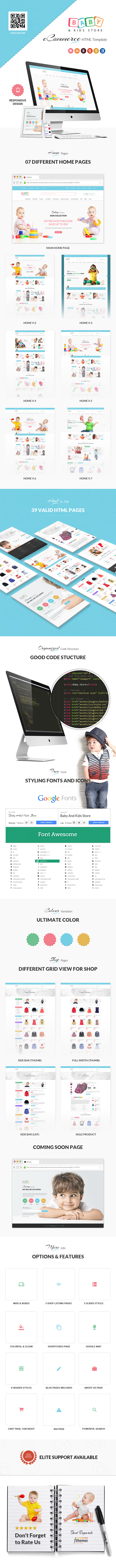 No. 1 Kids Store HTML Template