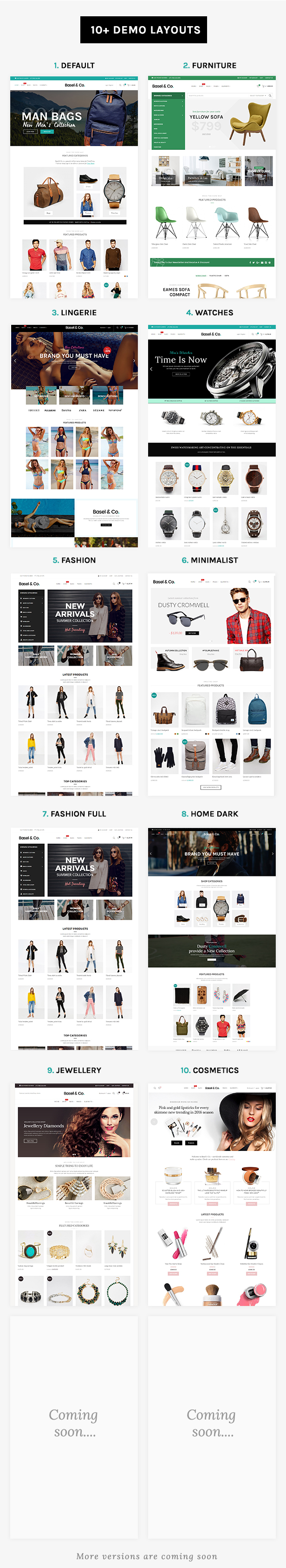Basel - Ecommerce HTML Template - 4