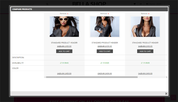 Bella - eCommerce Shop WordPress Theme - 7