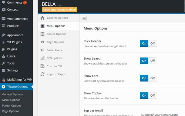 Bella - eCommerce Shop WordPress Theme - 10