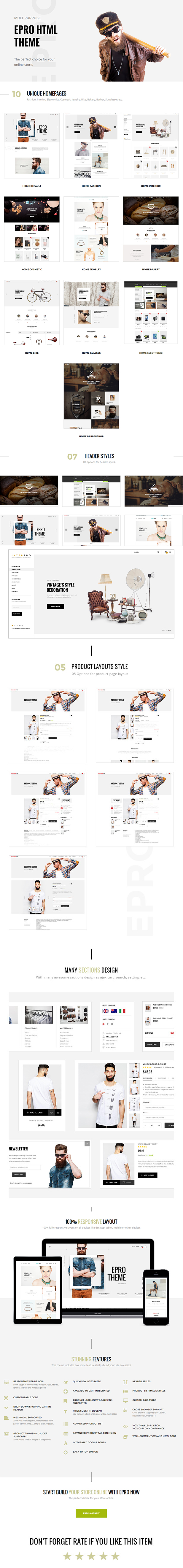 No. 1 Ecommerce HTML Template